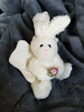 Boyds Bears Plush Christmas Ornament Angel Bunny Celeste 1994 Jointed Easter