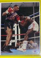 🔥Mike Tyson Auto Signed Magazine Page PSA/DNA Tony Tubbs KO on 3.21.88😱👀😎HTF