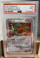 2007 Pokemon #94 Flygon EX Holo - EX Power Keepers MINT 9