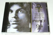 The Artist Formerly Known As PRINCE - 94 East OOP SEALED New UK IMPORT CD