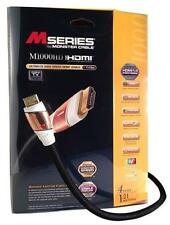 Monster Cable M1000 Ultimate High Speed HDMI Cable - M Series - 4 Ft - 17.8 Gbps