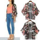 Vintage Floral Loose Shawl Kimono Boho Chiffon Cardigan Coat Jacket Tide New