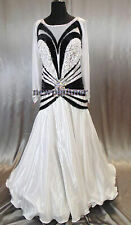 ML 1008 Women Competition Ballroom Tango Waltz Standard Smooth Dance Dress