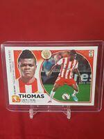Thomas Partey Almeria Arsenal Liga Este Panini Rookie Sticker