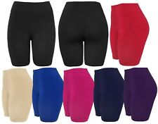 Women's Slip Shorts Seamless Layering Biker Bermuda Shorts