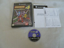 NINTENDO GAMECUBE VIDEO GAME DIGIMON DIGITAL MONSTERS WORLD 4 BAN DAI Wii RPG >>