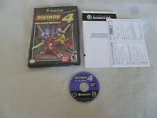 NINTENDO GAMECUBE VIDEO GAME DIGIMON DIGITAL MONSTERS WORLD 4 BAN DAI Wii RPG >>