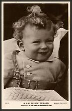 Royalty. Prince Edward. Son of  T.R.H The Duke & Duchess of Kent. Photo Postcard
