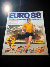 PANINI EURO 88 EMPTY ALBUM LEER 1988 STICKER SET UK EDITION 78 80 82 84 86 90 92