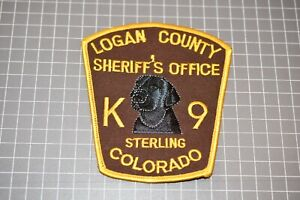 Logan County Colorado Sheriff's Office K-9 Patch (S03-1)