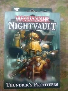 Warhammer Underworlds Nightvault Thundrik's Profiteers OOP BNIB SEALED