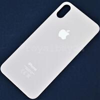 iPhone X 10 Echt Glas GOLD LIMITED EDITION Akkudeckel Rückseite backcover WoW!
