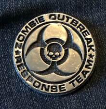 1oz Zombie Outbreak Response Team 1 ounce Silver Bullion Round unc: