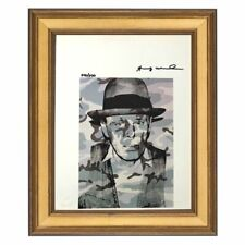 Andy Warhol - Hand Signed- Original Print with COA