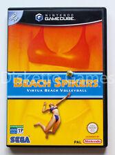 BEACH SPIKERS! SEGA ARCADE - NINTENDO GAME CUBE!! COMPLETO IMPECABLE!!!!