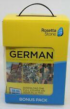 Rosetta Stone Barron's Bundle German Dictionary Dictionnaire Incl. Logiciel NEUF