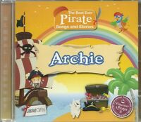 ARCHIE THE BEST EVER PIRATE SONGS AND STORIES PERSONALISED CHILDREN'S CD