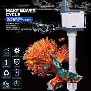 3 in1 Fish Tank Filter Submersible Water Pump Mute Aquarium Degreasing Film Kit