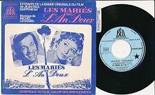 "BOF LES MARIES DE L'AN II 45T 7"" FRANCE  BELMONDO MARLENE JOBERT MICHEL LEGRAND"