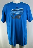 NFC South Division Carolina Panthers NFL Big & Tall Men Blue 2018 Preseason Tee