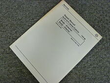 1999 Volkswagen VW Golf GTI Jetta Cabrio Body Shop Service Repair Manual Book