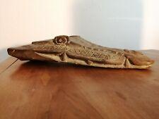 Ancienne proue de pirogue à tête de crocodile PAPOUASIE Sepik