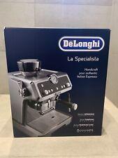 DELONGHI EC 9335.M LA SPECIALISTA Espressomaschine Silber - NEU & OVP