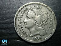 1873 3 Cent Nickel Piece  --  MAKE US AN OFFER!  #K2648