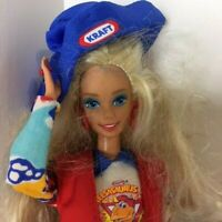 "Barbie 12"" Blonde Doll w/Kraft Cheese Outfit (1976 Head/1966 Body -Mattel)"