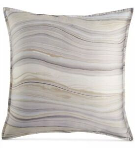 SET OF 2 Hotel Collection EURO Pillow Shams AGATE 400 Thread Count 100% COTTON