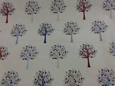 fryetts fabric Orchard In Blue by the half metre 100% cotton
