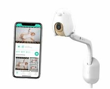 Cubo Ai Plus Smart Baby Monitor with Wall Mount: Sleep Safety Alerts for