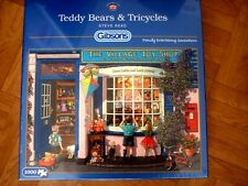 *TEDDY BEARS & TRICYCLES* GIBSONS 1000 PIECES JIGSAW PUZZLE. NEW! STILL SEALED