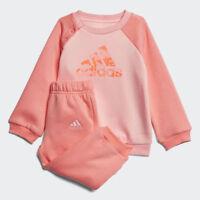 Adidas Infant Girls Sports Crew Jogger Tracksuit Children Kids Full Set - CF7380