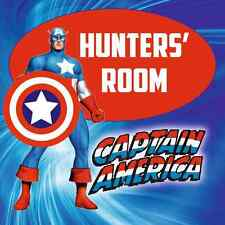 CAPTAIN AMERICA SIGN add name