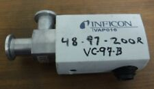 INFICON 250-202 USED MODEL VAP016-A RIGHT ANGLE VALVE