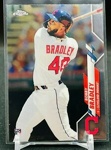 2020 Topps Chrome Bobby Bradley RC LOT OF 3 Cleveland Indians