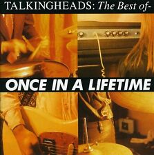 Once In A Lifetime: The Best Of - Talking Heads (2003, CD NEUF)