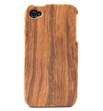 iPhone 4/4s Rose Wood Case 100% Genuine Wood✔️Hand Crafted Natural Wood Cover✔️