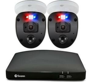 Swann Enforcer 4-Channel Full HD 1080p 1TB DVR Security System - 2 Cameras