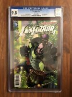 "Action Comics #23.3 CGC 9.8 3-D Lenticular Cover ""Lex Luthor #1"" DC Superman"