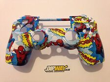 Custom PS4 Controller Shell Front - Spider-Man Design