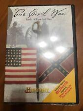 THE CIVIL WAR - BATTLE OF FIRST  BULL RUN DVD BRAND NEW SEALED