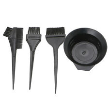 4Pcs Hair Dye Colouring Brush Comb Bowl Hairdressing Styling Tools Durable Hot