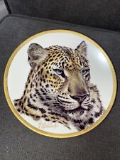 Vintage Lenox Great Cats of the World Collectors Plate 1994 - Chinese Leopard