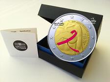 Pièce 2 euros commémorative FRANCE 2017  Le Ruban Rose - Belle Epreuve