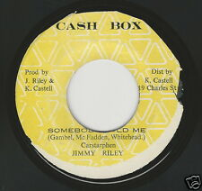 JA Reggae 45 / JIMMY RILEY - Somebody Told Me : CASH BOX   HEAR!