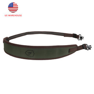 Tourbon Hunting Padded Rifle Sling with Swivels 2 Point Gun Sling Quick Release