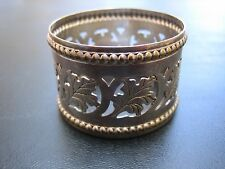 Antique Buenos Aires Leaf Design Industria Argentina 05R15 Sterling Napkin Ring