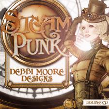 1 x Debbi Moore Designs Steampunk Double CD Rom (296238)